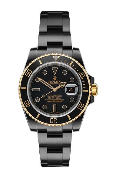 Rolex Submariner Date: Oro Titan Black USA