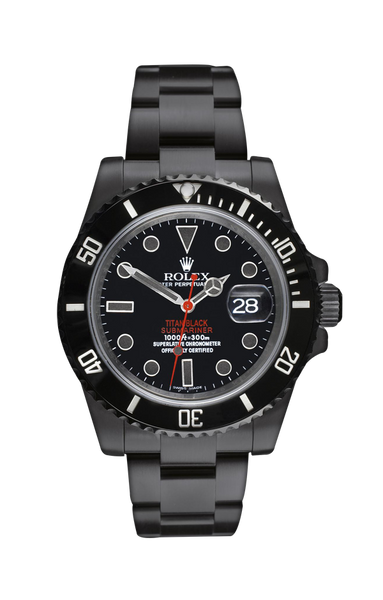 Rolex Submariner Date: Stealth Titan Black USA