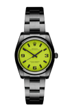 The Beach Collection - Neon Yellow Rolex Oyster Perpetual Titan Black USA