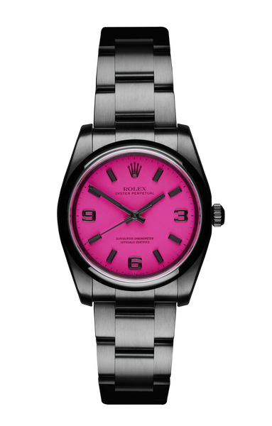 The Beach Collection - Rolex Oyster Perpetual Neon Pink Titan Black USA