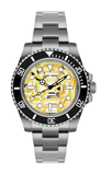 Rolex Submariner Yellow Sapphire Steel Titan Black USA