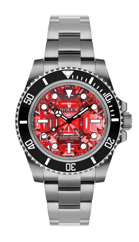 Rolex Submariner Ruby Steel Titan Black USA