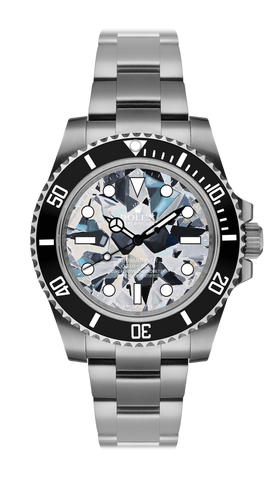 Rolex Submariner Diamond Steel Titan Black USA