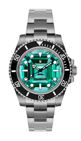 Rolex Submariner Emerald Steel Titan Black USA