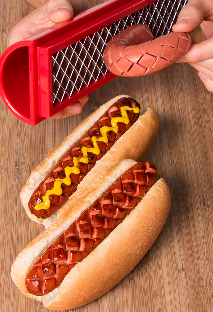 SLOTDOG® - Hot Dog Slicing Tool