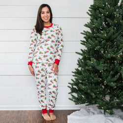 Women's Christmas Pajama Set
