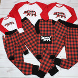Buffalo Plaid Christmas Pajamas