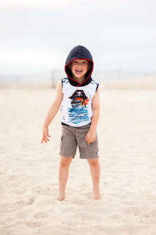 Shark Hooded Vest