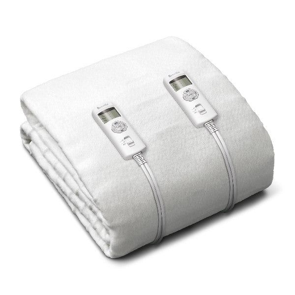 BodyZone™ Queen Antibacterial Fitted Heated Blanket
