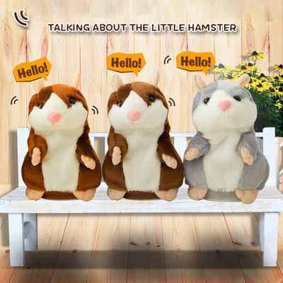 Talking Hamster Plush Toys