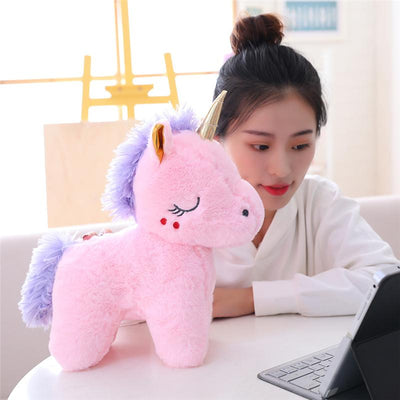 Sweet Sleeping Unicorn Plush Toy