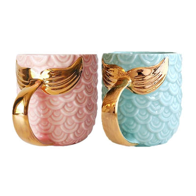 Magical Mermaid Ceramic Mugs
