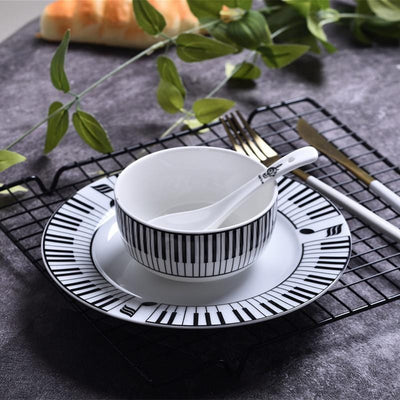 Musical Note Dinnerware Set
