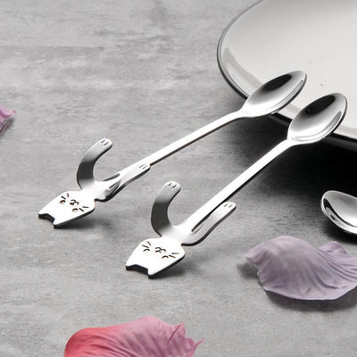 stainless steel mini spoons