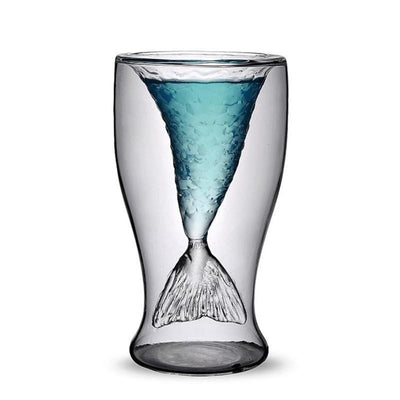 Magical Mermaid Tail Cocktail Glass