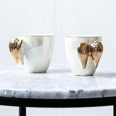 Angel Wings Ceramic Mug