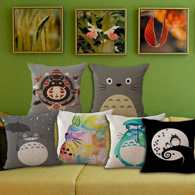 Artful My Neighbor Totoro Cushion Covers