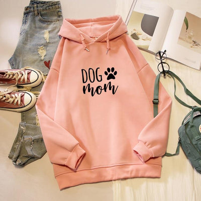 Dog Mom Print Hoodies-Hoodies & Sweatshirts-FreakyPet