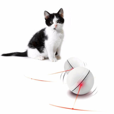 Funny Cat Magic LED Light Laser Ball-Cat Toys-FreakyPet