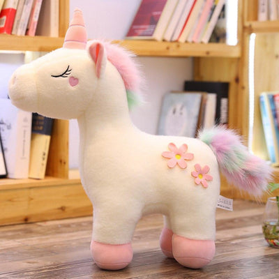 Unicorn Rainbow Tail Plush Toy
