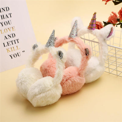 Cute Unicorn Warm Earmuffs