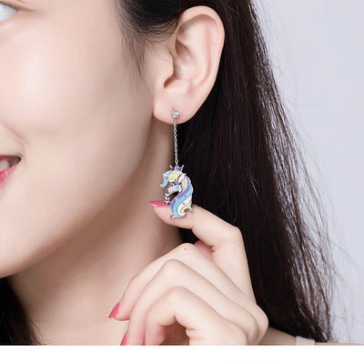 Classic Unicorn Stud Earrings