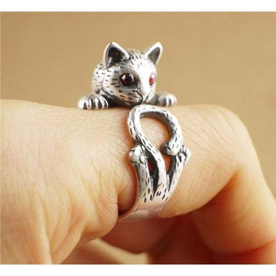 Tail Twist Cat Ring-FreakyPet