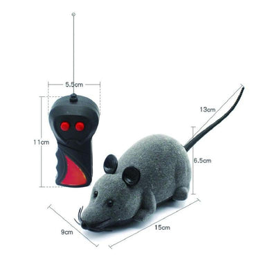 Remote control mouse toy for cats (and humans)-Cat Toys-FreakyPet