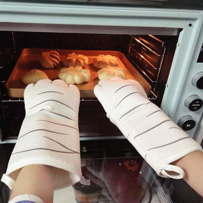 Cute Cat Paw Baking Gloves-Oven Mitts & Oven Sleeves-FreakyPet