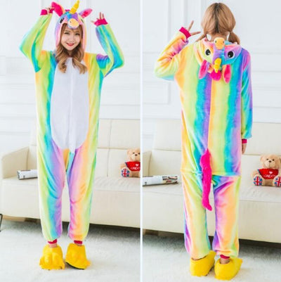 Cute Unicorn Onesie Costume Pajama