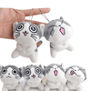 Soft Cute Chi Cat Plush Keychain