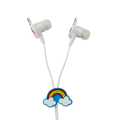 Colorful Unicorn Wired Headphones