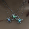 3pcs Glow in the Dark Unicorn Necklace