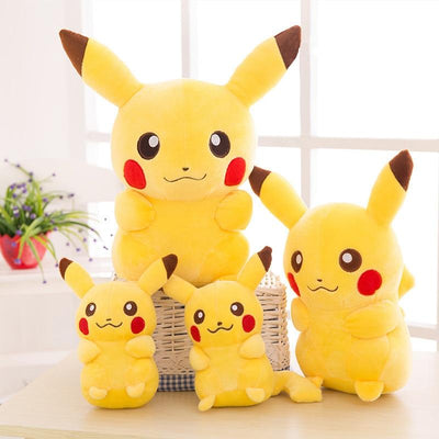 Kawaii Cute Smile Pikachu Plush Toys