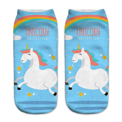 Kawaii Unicorn Socks