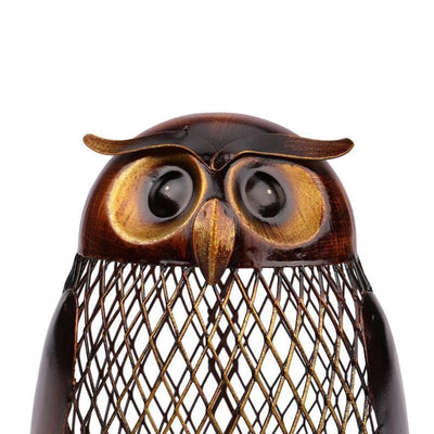 Hooting Owl Piggy Bank