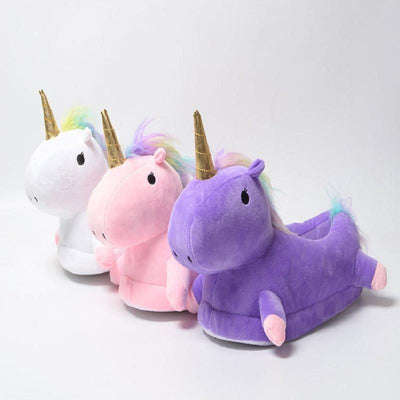 Kawaii Indoor Unicorn Slippers