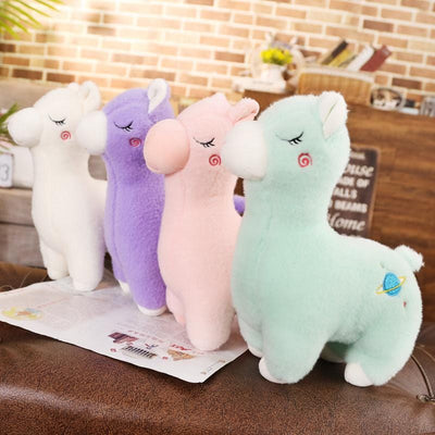 Adorable Alpaca Plush Toy