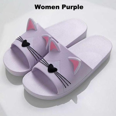 Cute Cat Ear and Whisker Sandals