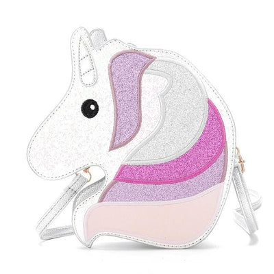 Sequin Unicorn Crossbody Bag