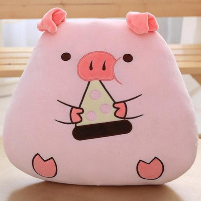 Stuffed Pig Pillow & Blanket Set