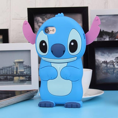 Soft Silicone Stitch Phone Case