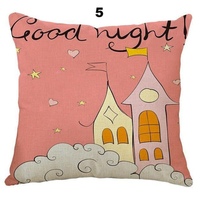 Unicorn Cartoon Cushion Covers