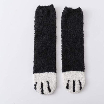 Cute Cat Paw Fleece Socks-Home-FreakyPet