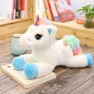 Rainbow Unicorn Light Up Plush Toy