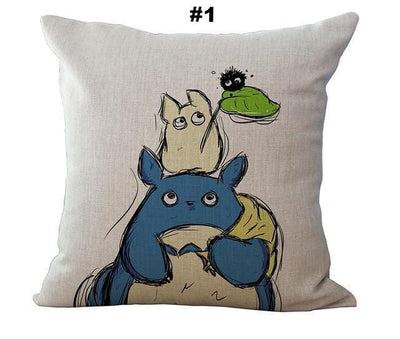 Cute My Neighbor Totoro Cushion Covers