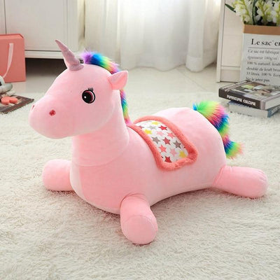 Plush Unicorn Baby Seat