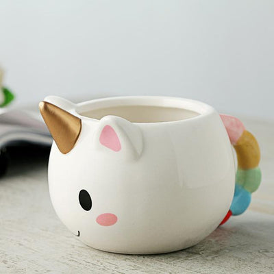 Cute Unicorn Hand-painted Mug