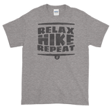 Sayings - Relax Hike Repeat - Men's Short sleeve t-shirt