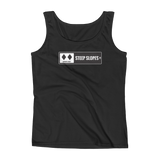 Ski Signs - Experts Only - Steep Slopes - Women's Tank